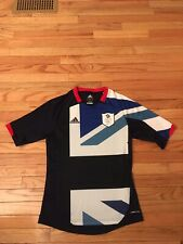 Team Great Britain Adidas Climacool Men's 2012 Olympic Soccer Jersey Size S