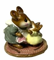 "Wee Forest Folk: "" Don't Cry"" Hugging, Collectible, Retired (1987-1990), M-149"