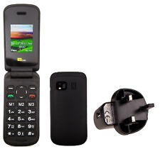 TTsims Flip TT140 Camera Bluetooth Cheapest Folding Easy Phone with Mains Plug