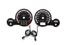 Opel Astra G Coupe design 2 glow gauge plasma dials tachoscheibe glow shift