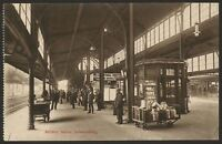 South Africa. Johannesburg. Railway Station. Milk Churns! Vintage Postcard