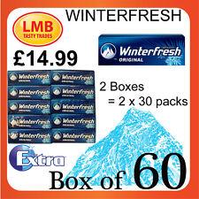 Extra Winterfresh 60 packs-  Orbit Chewing Gum Sugarfree