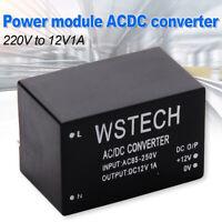 AC-DC Converter 110V 220V 230V to DC 12V 1A Switching Power Supply Module DIY