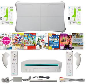 Nintendo Wii Konsole ORIGINAL Remote Controller, Nunchuk Balanceboard z. Auswahl