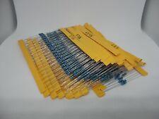 600pcs Metal Film Resistor Assorted Pack Kit Set 30 Values 1 14w 10r 22r 47r