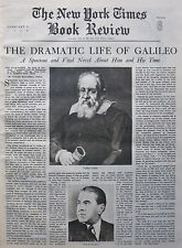 The Star Gazer Galileo Zsolt Harsanyi Field 1940 February 4 Ny Times Book Review