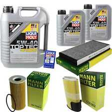 Inspection Kit Filter LIQUI MOLY Oil 7L 5W-40 for Porsche Boxster 987 2.9 S 3.4