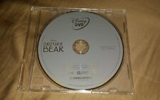 Brand New 2013 Disney Brother Bear Dvd Disc Only