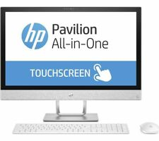 "HP 24-R009NA 23.8"" Touch All-In-One AMD A9 Dual Core 3.2GHz 2TB Windows 10 PC"