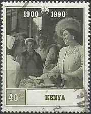 Timbre Famille royale Kenya 520 o lot 27223