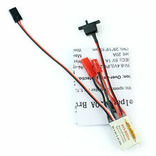 RC 20A Brushed ESC Car Motor Speed Controller Bothway With brake function F 1/16