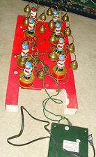 Working Santa's Marching Band Mr. Christmas holiday musical display brass bells