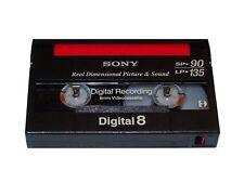 Sony Digital 8 Camcorder CARTUCCIA - 8mm CASSETTA n8-90p