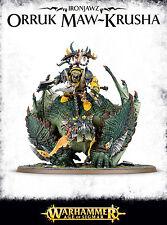 Ironjawz Orruk Maw-Krusha Gordrakk, Fist of Gork Megaboss Warhammer Age Sigmar