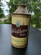 Vintage Northern Beer Brand Cone Top Beer Can 12oz
