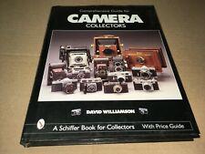 Vintage Comprehensive Guide For Camera Collectors David Williamson Schiffer