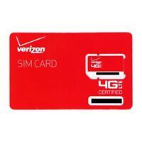 Verizon Wireless 4G LTE SIM Card 2FF (RETAILSIM4G-A)