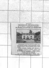 1936 Charming Old House On 42 Acres Between Presteigne And Knighton, For Sale