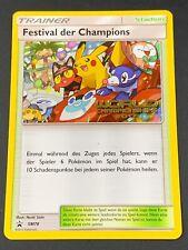 Pokemon💎Champions Festival💎2017 German Sun&Moon Promo #SM78🌟Worlds Champs