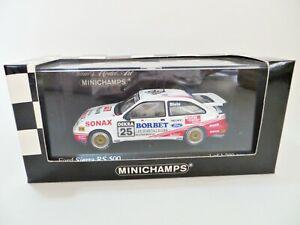 MINICHAMPS 'FORD SIERRA COSWORTH RS500 #25 FRANK BIELA, DTM 1989' 1:43 MIB/BOXED