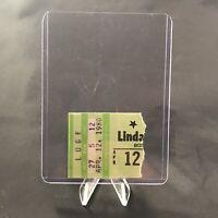 Linda Ronstadt Boston Garden Massachusetts Concert Ticket Stub Vintage Apr 1980