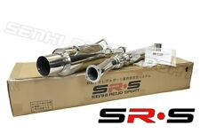 SRS SR*S TYPE-R1 CATBACK EXHAUST SYSTEMS FOR SUBARU IMPREZA WRX STI 2002 -2007