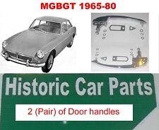 MGBGT ROADSTER 1962-80 2 x CHROME Poignées portière (paire) RECHANGE ORIGINAL mg