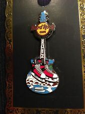 HARD ROCK CAFE NIAGARA FALLS NY HOCKEY STATE GUITAR MAID OF THE MIST PIN