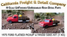 1975 FORD FLATBED PICKUP w/WOOD SIDES KIT (1 Kit) N/Nn3/1:160 Cal Freight *NEW*
