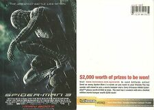 RARE / CARTE POSTALE POSTCARD - SPIDERMAN 3 : SPIDER MAN 3 / COMME NEUF LIKE NEW