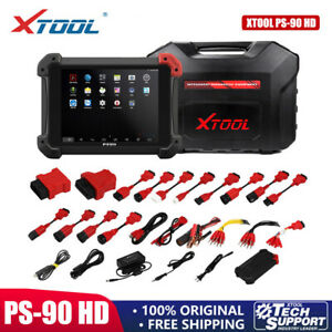 XTOOL PS90 HD Truck Diesel Heavy Duty Engine Fault Code Reader Diagnosis Scanner