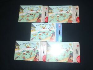 NEW NOS 42 AMERICAN  GREETINGS NEW ADDRESS ANNOUNCEMENT CARDS Envelopes