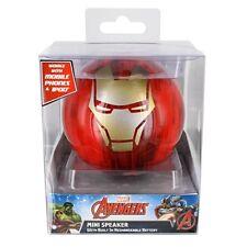 Marvel Avengers Portable Mini Speaker With Built In Rechargeable Battery