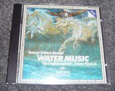 410 525-2 - HANDEL - WATERMUSIC - PINNOCK - FULL SILVER CD