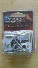 Battles of Westeros Banner Pack New Fantasy Flight BattleLore Game