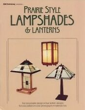 Stained Glass Pattern Book - PRAIRIE STYLE LAMPSHADES