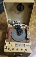 Federal Recording Radio Tube Record Player Recorder Maker 45s 78s RARE Vintage