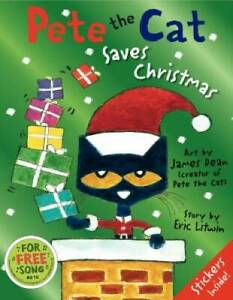 Pete the Cat Saves Christmas - Hardcover By Litwin, Eric - GOOD