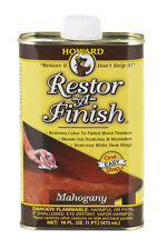 HOWARD Original Restor-A-Finish 1 Pt MAHOGANY Wood Furniture Restorer RF5016