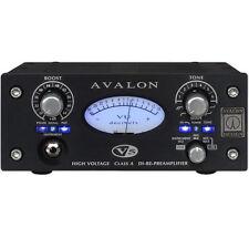 Avalon Design V5 Black Class-A RE-DI-Preamplifier Mic Preamp