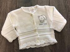 baby babies PREMATURE WHITE CARDIGAN cardis cardigans prem tiny newborn