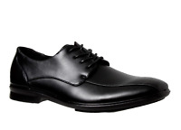 Mens Grosby Oliver Black Lace Up Formal Dress Work Stylish Comfortable Shoes