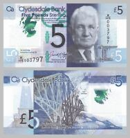 Schottland / Scotland 5 Pounds 2016 Polymer p229O unz.