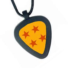 Dragon Ball Z Ballz Pickbandz Mens or Womens Real Guitar Pick Necklace