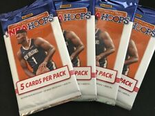 4 Packs x 2019-20 NBA Hoops Basketball Cards Exclusive Neon Green Parallels