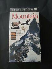 EYEWITNESS -Mountain VHS *Factory sealed*