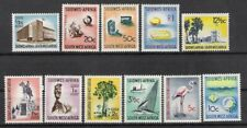 South West Africa 1961 Definitives assorted MNH (2 scans)