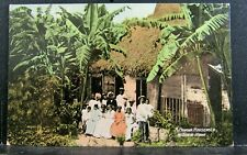 1907-15 The Valentine & Sons Pub PC, A PANAMA Household & Their Home