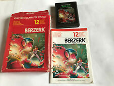 Berzerk / Boxed With Instructions / Atari 2600 / Tested & Working / 7800 PAL