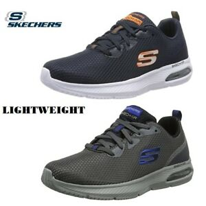 Skechers Men's Dyna-air Trainers Lightweight Athletic  Dyna Air Cushion Quality